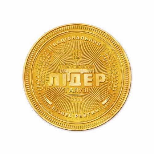 """Медаль """"Лидер Отрасли 2008"""""""